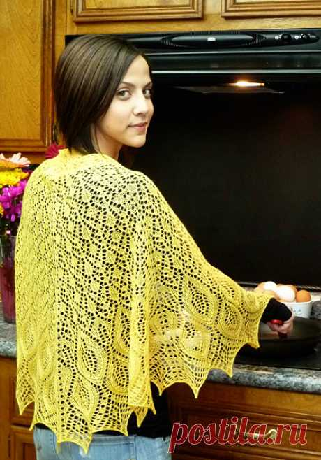 Omelet shawl