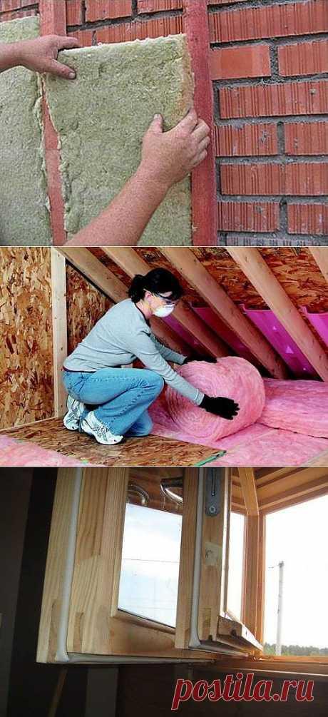 Как утеплить кирпичный дом?