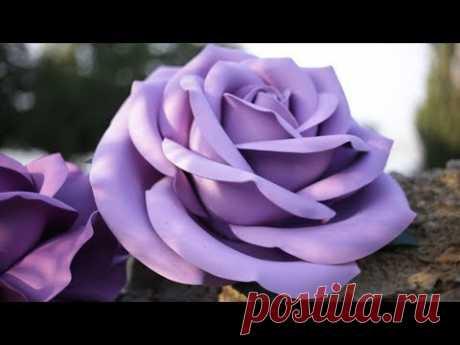 Самая красивая ростовая роза из фоамирана