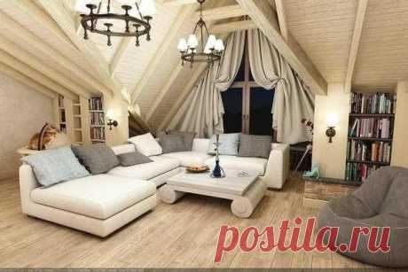 The room on an attic