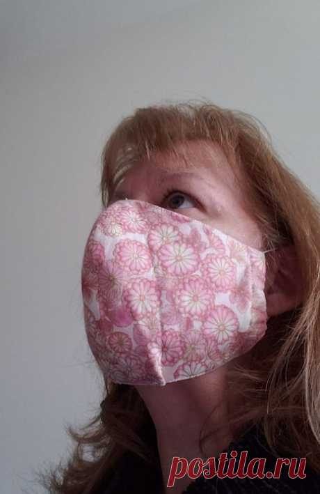 Comfortable Face Mask in Easy Steps Pattern Included : 8 Steps (with Pictures) - Instructables