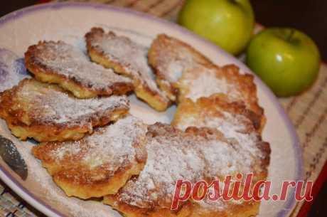 Яблочные оладьи - пошаговый рецепт с фото - как приготовить - ингредиенты, состав, время приготовления - Дети Mail.Ru