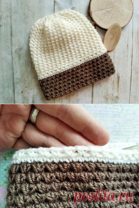 Вяжем зимнюю женскую шапку крючком » «Хомяк55» - всё о вязании спицами и крючком