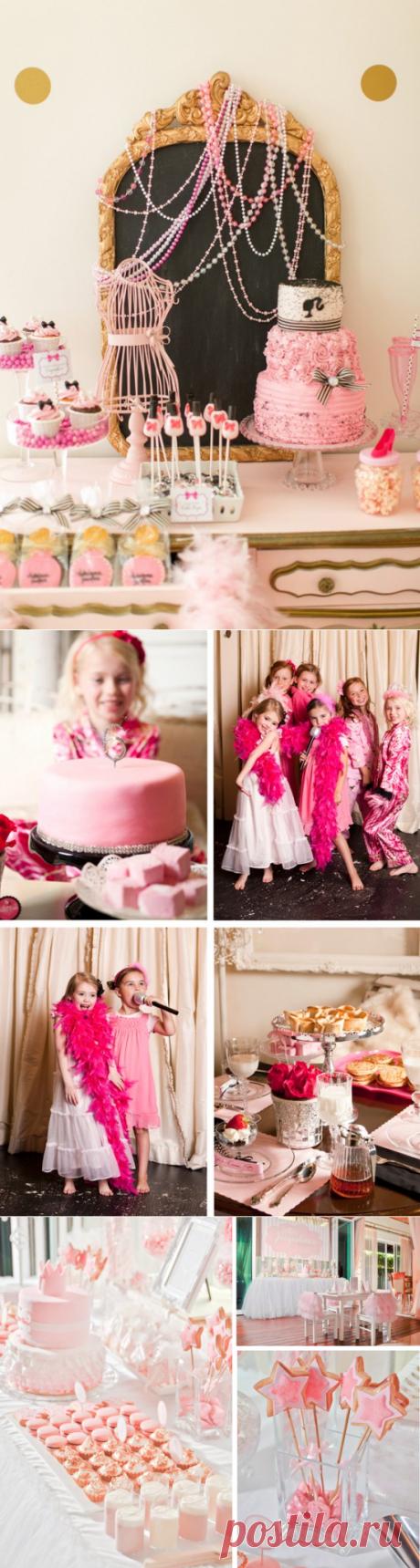 Детский день рождения девочки юные фотомодели - Семейное - art-bufet.ru