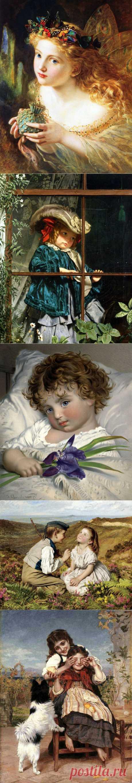 Французская художница Sophie Anderson (1823-1903)