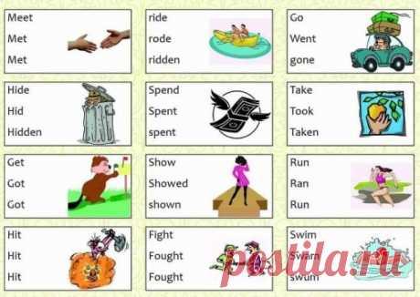 Интересно - Эти Таблицы Заставят Вас Выучить Английский, Даже Если Вы Не Сильны В Языках