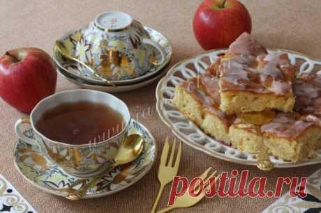 Немецкий яблочный пирог — рецепт с фото пошагово. Как приготовить пирог с яблоками по-немецки?