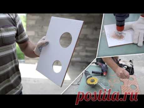 Como hacer las aberturas en la baldosa (5 modos simples)