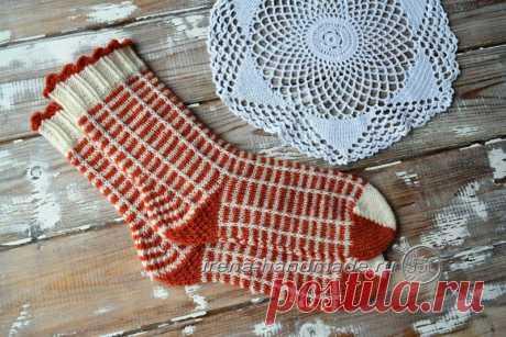 Мысок «бумеранг» (вязание, схемы и фото) - Irena Handmade
