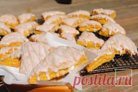 Тыквенные булочки с глазурью - рецепт с фотографиями - Patee. Рецепты
