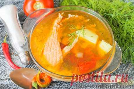 Суп из лосося - настоящий деликатес!