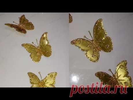 Mariposas doradas - golden butterflies - YouTube