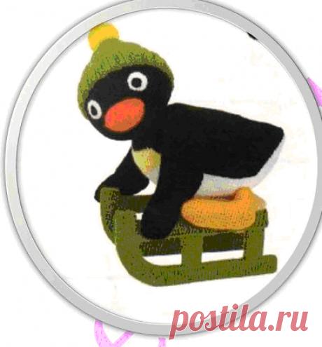 Пингвин на санях