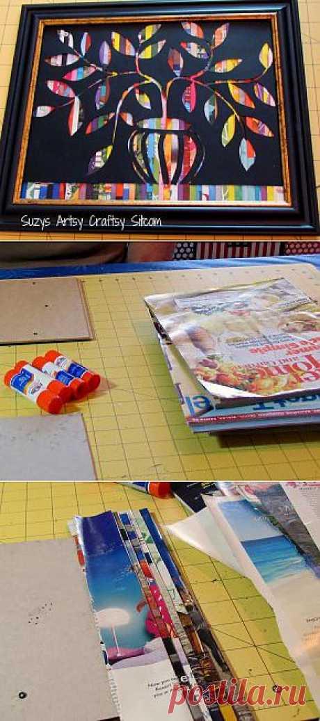 Feature Friday- Cut Paper Art
