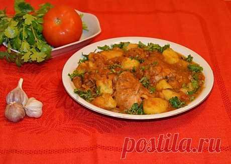 Чахохбили из курицы с картошкой рецепт с фото пошагово - 1000.menu