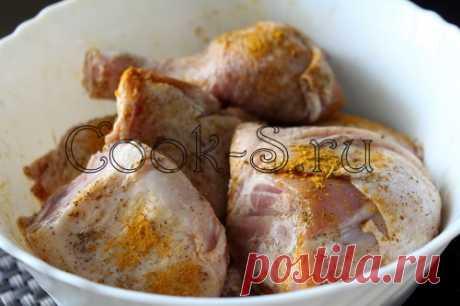 Курица в карамели - Пошаговый рецепт с фото | Блюда из курицы