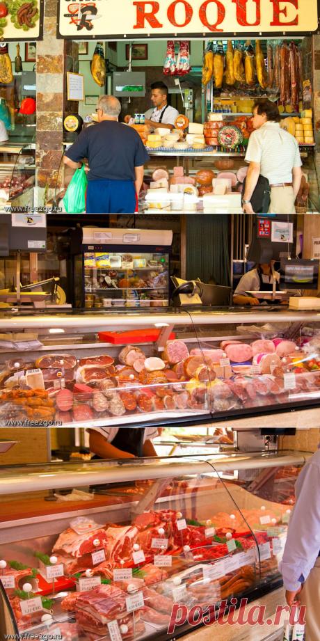 Рынок города Санта-Крус-де-Тенерифе - мясо. | Путевые заметки Алексея Онегина