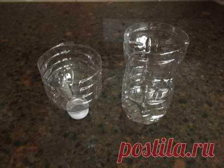 Простая и эффективная ловушка для комаров из пластиковой бутылки