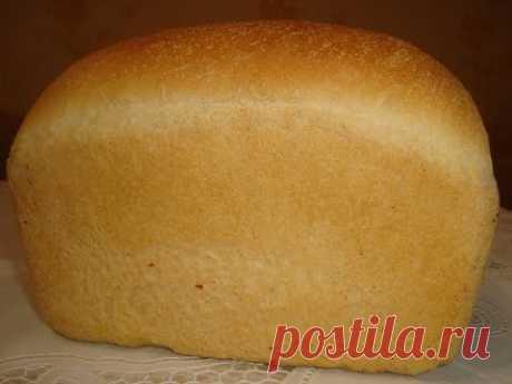 Вкусный домашний белый хлеб «Кирпичик» в духовке. Лучший рецепт