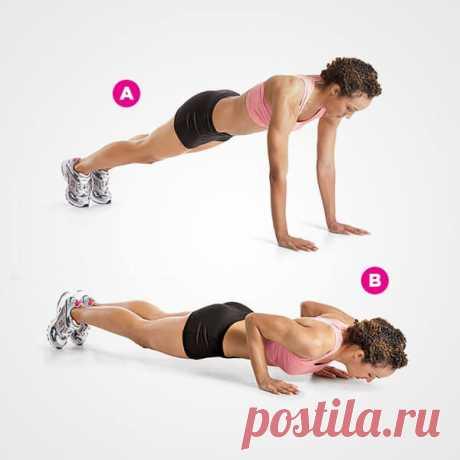 4-минутная тренировка, которая заменит час фитнеса в спортзале - Все Для Женщины (ВДЖ)