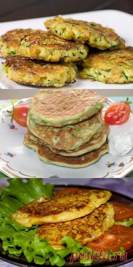 Рецепты оладий из кабачков / Простые рецепты