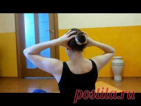 САМОМАССАЖ: Шея и плечи Воротниковая зона