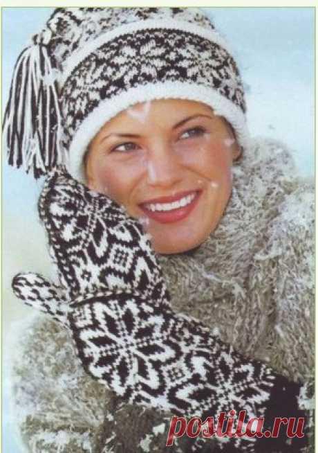 шапки,шарфы,одежда жаккардом | Записи в рубрике шапки,шарфы,одежда жаккардом | Дневник selwas