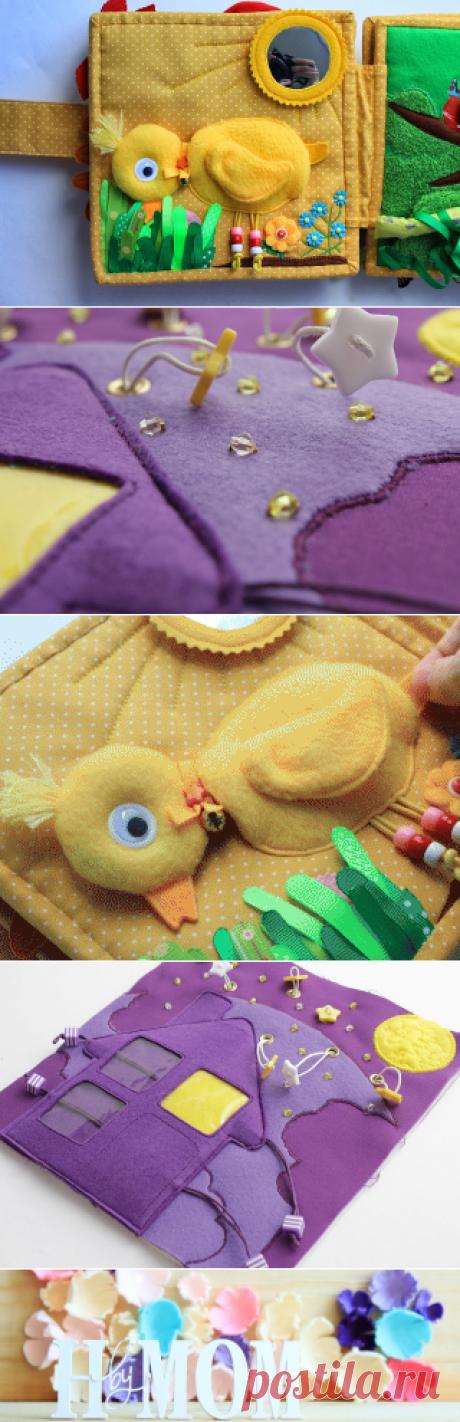 Handmade by mom: Новая развивающая книжка для малышей от 1 до 3 лет..) Радужная! Продолжение..)