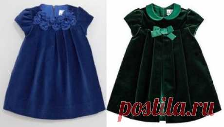 Детское платье с клапаном, складками и рукавом - DIY- marlene mukai - детская форма