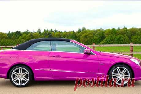 К чему снится розовая машина (автомобиль)   Сонник-снов
