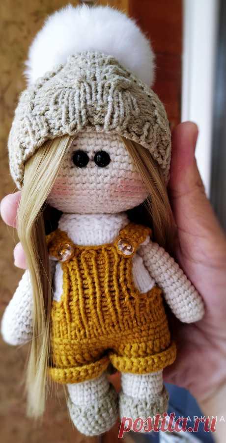 PDF Куколка крючком. FREE crochet pattern; Аmigurumi doll patterns. Амигуруми схемы и описания на русском. Вязаные игрушки и поделки своими руками #amimore - Кукла, куколка, пупс, doll puppet, muñeca boneca, poupée, puppe, panenka, bebek, lalka. Amigurumi doll pattern free; amigurumi patterns; amigurumi crochet; amigurumi crochet patterns; amigurumi patterns free; amigurumi today.