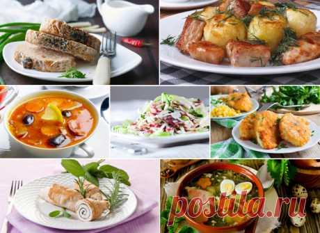 7 ужинов: составляем меню на неделю - tochka.net