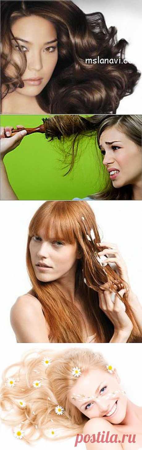 Лучшие домашние маски для волос по воздействию | Вяжем с Ланой