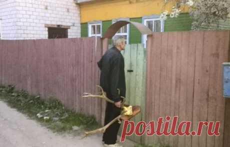 Сосед, рога свои забери! 😃