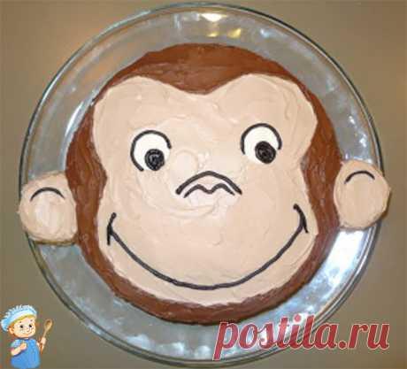Торт на Новый год Обезьяны