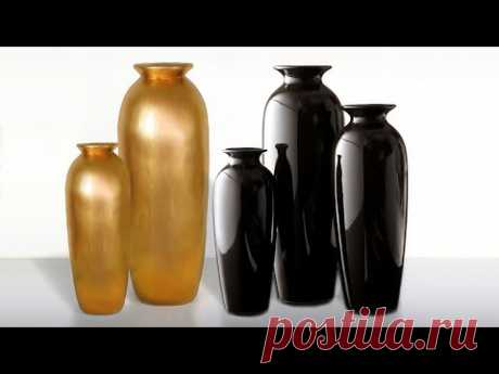 Big Size Awesome Flower vase making || Cement flower vase at home