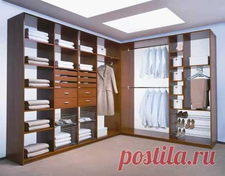 Как сделать гардеробную комнату | Роскошь и уют