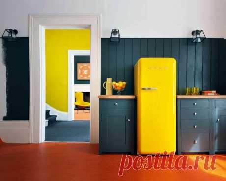 Учимся не бояться цвета: 18 идей для ярких кухонь — Roomble.com