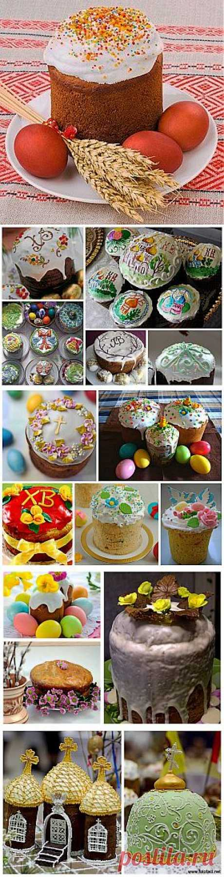 How to decorate an Easter cake: ideas for inspiration