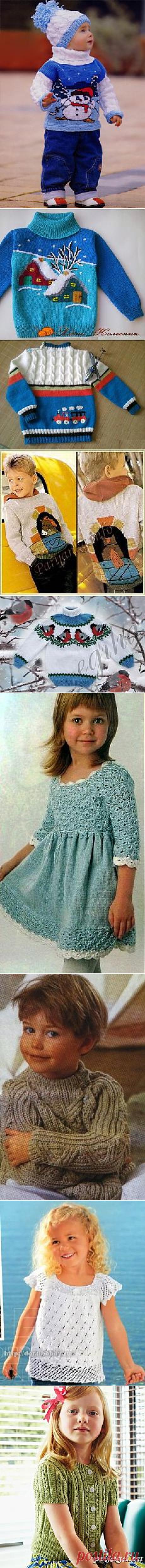 knitting to children | Galina Forostovskaya | Simple schemes. We save time for Postile