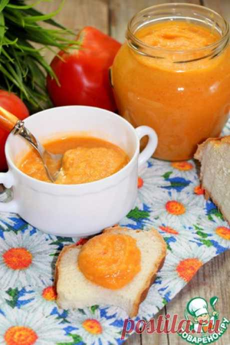 Кабачковая икра, запеченная в рукаве - кулинарный рецепт Кабачок— 2 шт Перец болгарский— 1 шт Морковь— 1 шт Лук репчатый— 1 шт Помидор— 2 шт Масло подсолнечное— 2 ст. л. Соль Перец черный(молотый)