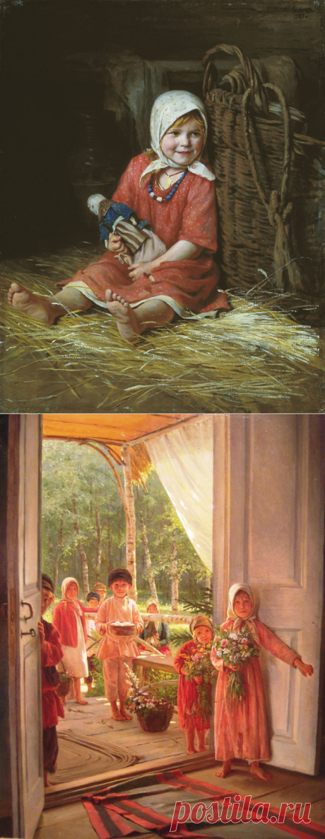 Русский жанровый живописец, академик Императорской Академии художеств - Кирилл Викентьевич Лемох (1841-1910)