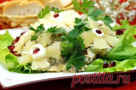 Салат «Цветочки» – Рецепты. Рецепты на 8 Марта
