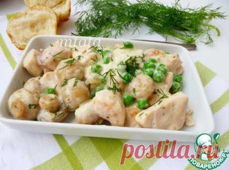 Куриная грудка быстрая в соусе – кулинарный рецепт