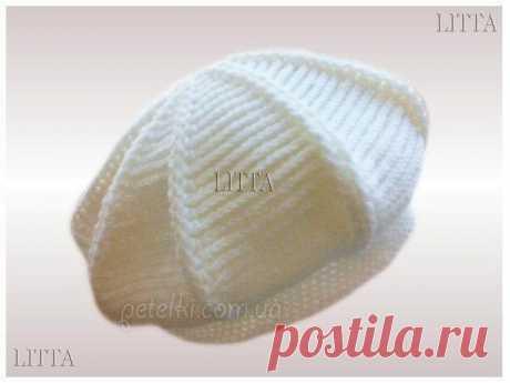 Вязаные шапки, береты и другие головные уборы
