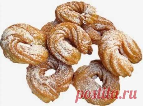 Испанские заварные пончики