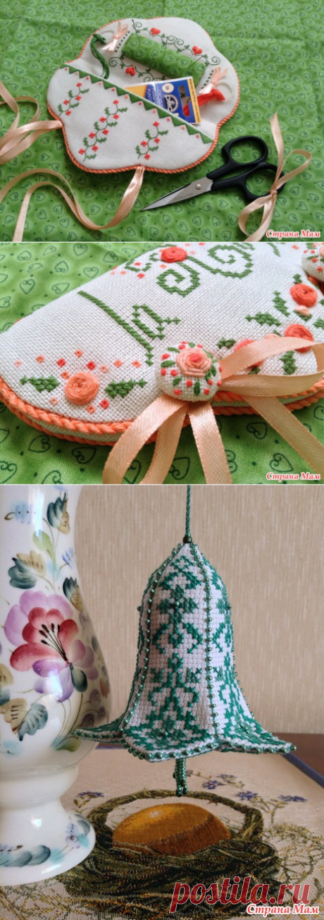 Сводный годовой рукодельный отчет! ))) Вышивка, вязание, немного декупажа и валяния) - Страна Мам