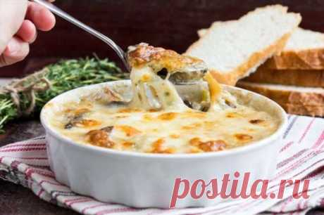 Вкусный жульен с мясом и грибами: обалденная порционная закуска к праздничному столу! | Офигенная