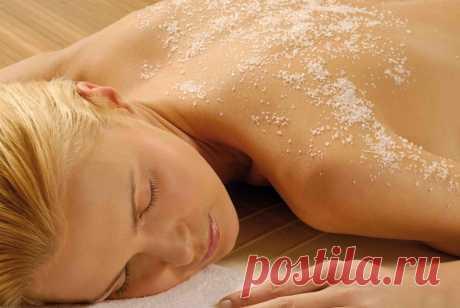Соляной массаж для профилактики остеохондроза