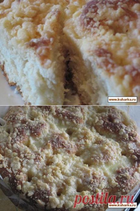 Немецкий Штрейзельный пирог